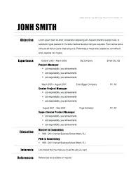 Google Resume Builder Simple Google Docs Resume Builder Datainfo Info Resume Template Printable