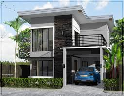 Two Storey House Plans And Design Modern House Plans Pictures Two Storey Modern House Designs
