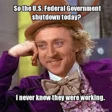 Brace Yourselves: Government Shutdown Memes are... - The Bizz by ... via Relatably.com