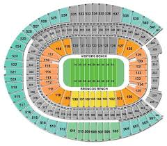 Denver Invesco Field Seating Chart Denver Broncos Vip Packages Tickets Premium Seats Usa