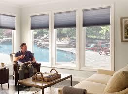 motorized cellular shades sun room