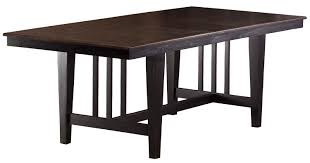 Hillsdale Dining Table Hillsdale Copeland Trestle Dining Table Distressed Black 5566