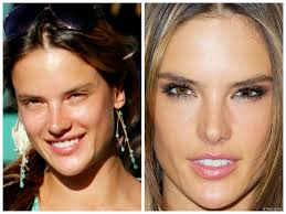 no makeup look get inspired 5 make up photos of victoria s secret angels