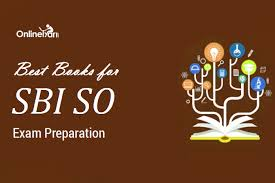 SBI SO Exam Best Books Recommended Study Material Magnificent Exambest