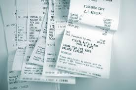 Znalezione obrazy dla zapytania receipt