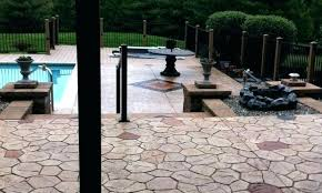 Backyard Concrete Patio Designs Concrete Patio Backyard Concrete