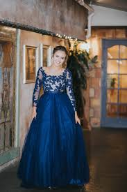 Utah Dress store Utah prom dress Long Dress Flowy Ballgown Blue.