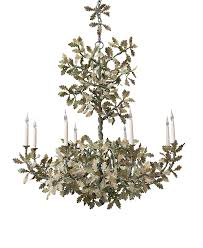 oak leaf chandelier designs