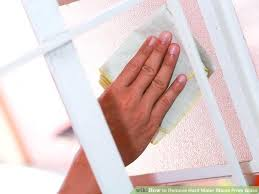 how to get hard water spots off glass shower doors how to keep water spots off