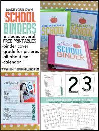 Free Printable Binder Templates School Binder With Printables