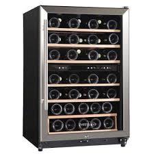 45 bottle freestanding wine cooler