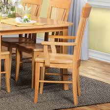amish natural cherry dining room arm chair bernie phyl s furniture by daniel s amish furniture
