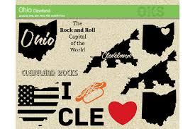 Dit is een perfect ontwerp voor degenen die houdt van disc golf en wilde een kunstzinnig ontwerp het ophalen van de vertaling is mislukt. Ohio Cleveland Vector Graphic By Crafteroks Creative Fabrica