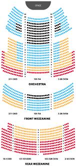 Gershwin Seating Chart Gershwin Theater Seating Chart Lovely Majestic Theatre