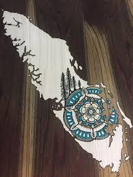 Small Picture Sitka Mandala Home Vancouver Island Reclaimed Wood Map Rustic