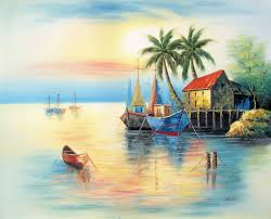 many oil paintings do not need the varnishing but some oil paintings requires if you do not varnish well then you will not get the gl