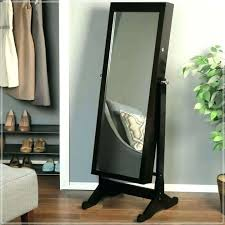 free standing jewelry armoire with mirror floor mirror with jewelry floor standing mirror jewelry cheval mirror