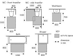 Creative Bathroom Toilet Dimensions Decorating Ideas Amazing - Handicap bathroom size