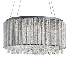 beatrix crystal drop pendant light