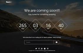 Coming Soon Website Template Extraordinary Best Free Coming Soon Bootstrap Template Webthemez