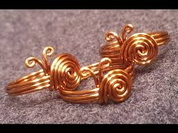 tutorial simple snails ring for beginners 75