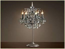 lamp lovely chandelier table lamp crystal chandeliers design black uk