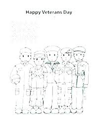 Veterans Day Coloring Happy Veterans Day Coloring Pages Color For