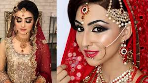 indian wedding makeup for a beautiful bride 2017