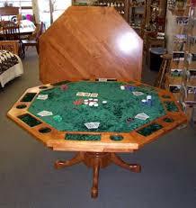 custom poker tables. Locally Amish Custom Made Cherry Poker Table Tables