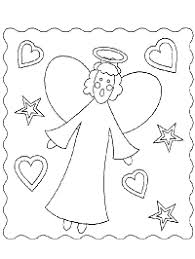 Angels Coloring Pages And Printable Activities