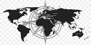 wall decal world map sticker png