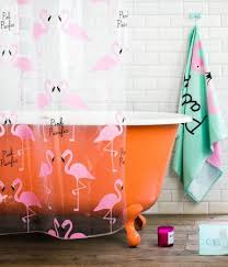 innovative flamingo shower curtains ideas with 210 best everything flamingo images on home decor pink flamingos