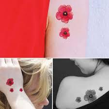 4шт женские татуировки наклейки свежий стиль шикарный цветной тату аксессуар