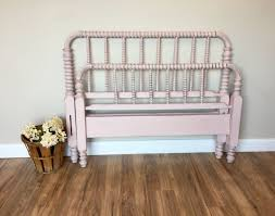 Jenny Lind Bed - Three Quarter Bed - Pink Bed Frame - Antique Bed ...