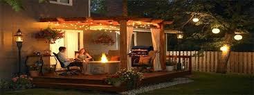 outdoor pergola lighting. Backyard Pergola Classy Lights In The Outdoor Costco Lighting