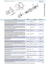 ford rear axle (page 249) sparex parts lists & diagrams F350 Rear Axle Diagram s 73978 ford fd08 243 2004 f350 rear axle diagram
