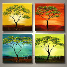 china special handmade group oil painting of trees china handmade group oil painting oil painting