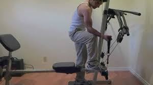 Weider Max Ultra Exercise Chart Bicep Workout On My Weider Crossbow Max