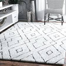 white fluffy area rugs mercury row hand tufted white area rug reviews with prepare 0 large white fluffy area rugs