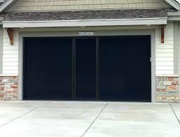 retractable screen doors for garage