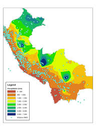 Lima Peru Climate Chart This Is Perus Climate Map Peru Has Three Different Climate