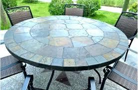 tile patio table small mosaic garden outdoor stone tables modern set