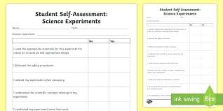 Science Projects Reports Sample Self Evaluation My Sample Report Format Lupark Co