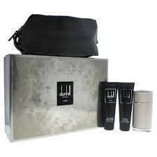 icon by dunhill for men 3 pc gift set 3 4oz edp spray 3oz shower gel 3oz after shave balm toile walmart