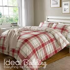 home red check bo duvet set and pillowcase bedding set previous next