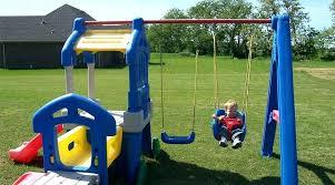 outdoor swing stand wooden backyard swings modern baby