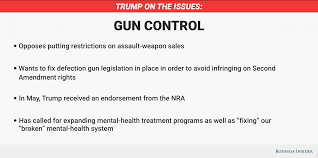 pro gun control essay college essays featuring application and  this is where donald trump stands on gun control business insider trump gun control