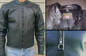 vanson leathers perforated drifter jacket