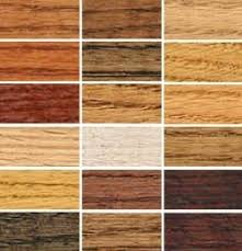 wood colored paintChoosing an Interior Wood Stain Color