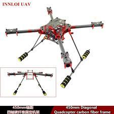 details about diy 4 axis 450mm carbon fiber frame for 4 rotors quadcopter frame fpv frame